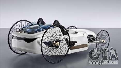 Boot screens Mercedes-Benz F-CELL Roadster for GTA 4 third screenshot