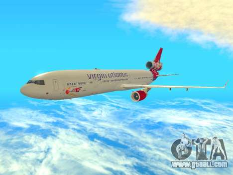 McDonnell Douglas MD-11 for GTA San Andreas left view