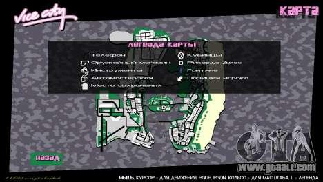 Icons card from GTA V for GTA Vice City third screenshot