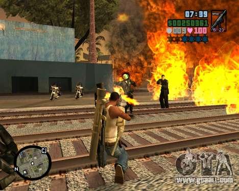 C-HUD Vice Sity for GTA San Andreas forth screenshot
