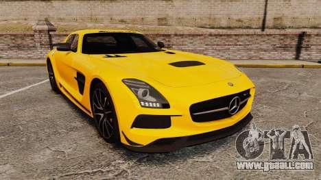 Mercedes-Benz SLS 2014 AMG Performance Studio for GTA 4