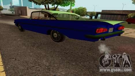 Chevrolet Bel Air 1959 for GTA San Andreas left view