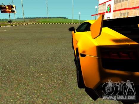 Lamborghini Gallardo Super Trofeo Stradale for GTA San Andreas right view