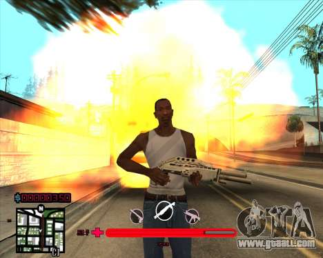 C-HUD would Mario_Nostra for GTA San Andreas third screenshot