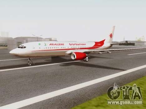 Boeing 737-800 Air Algerie for GTA San Andreas