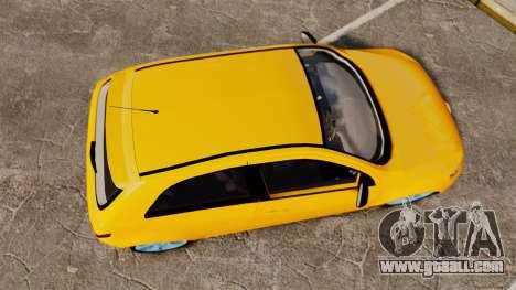 Volkswagen Gol G5 3 Puertas for GTA 4