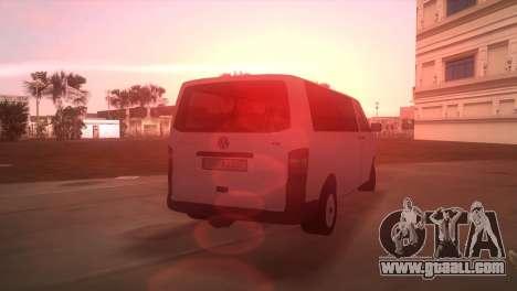 Volkswagen T5 Transporter for GTA Vice City left view