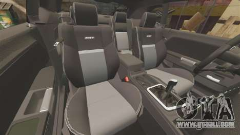 Dodge Challenger SRT8 2009 [EPM] APB Reloaded for GTA 4 upper view