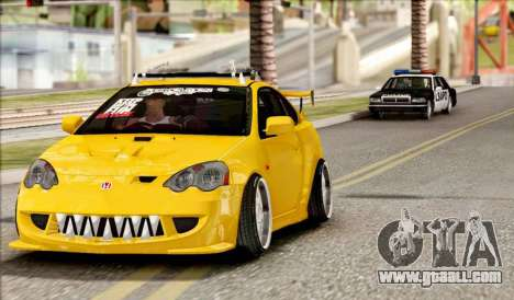 Honda Integra Mugen Type R for GTA San Andreas back left view
