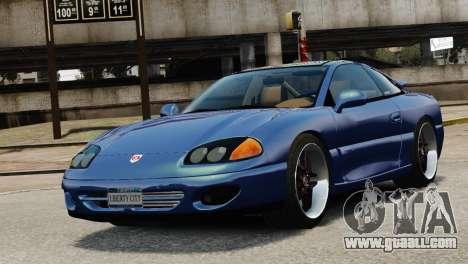 Dodge Stealth Turbo RT 1996 for GTA 4 inner view