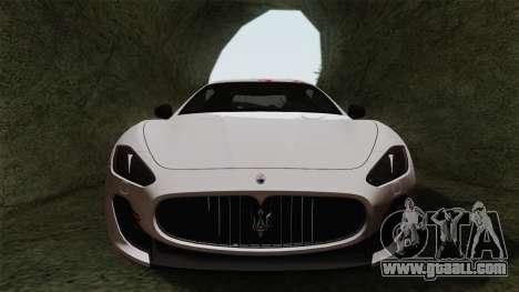 Maserati GranTurismo MC Stradale for GTA San Andreas