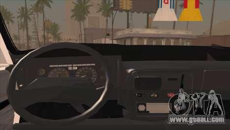 Peykan 48 Blackroof for GTA San Andreas back view