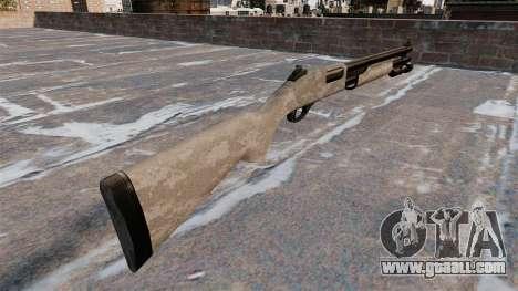 Riot shotgun Remington 870 Wingmaster for GTA 4 second screenshot