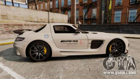 Mercedes-Benz SLS 2014 AMG Driving Academy v1.0 for GTA 4 left view