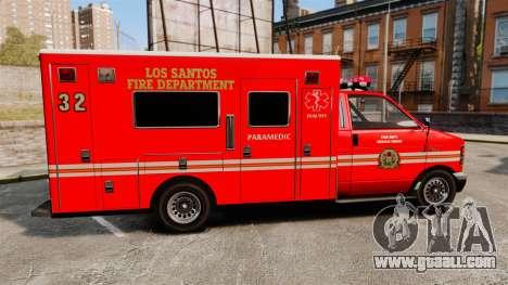 Brute LSFD Paramedic for GTA 4 left view