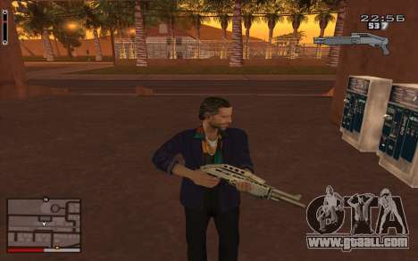C-HUD GTA 5 for GTA San Andreas second screenshot