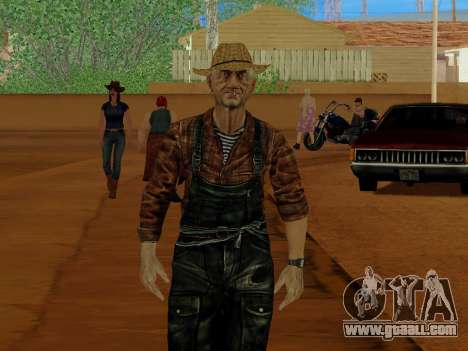 Farmer or amended and supplemented for GTA San Andreas fifth screenshot