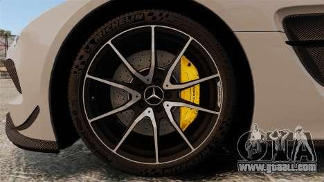 Mercedes-Benz SLS 2014 AMG NFS Stripes for GTA 4 back view