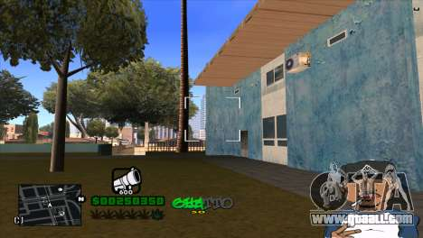 C-HUD By Markus for GTA San Andreas forth screenshot