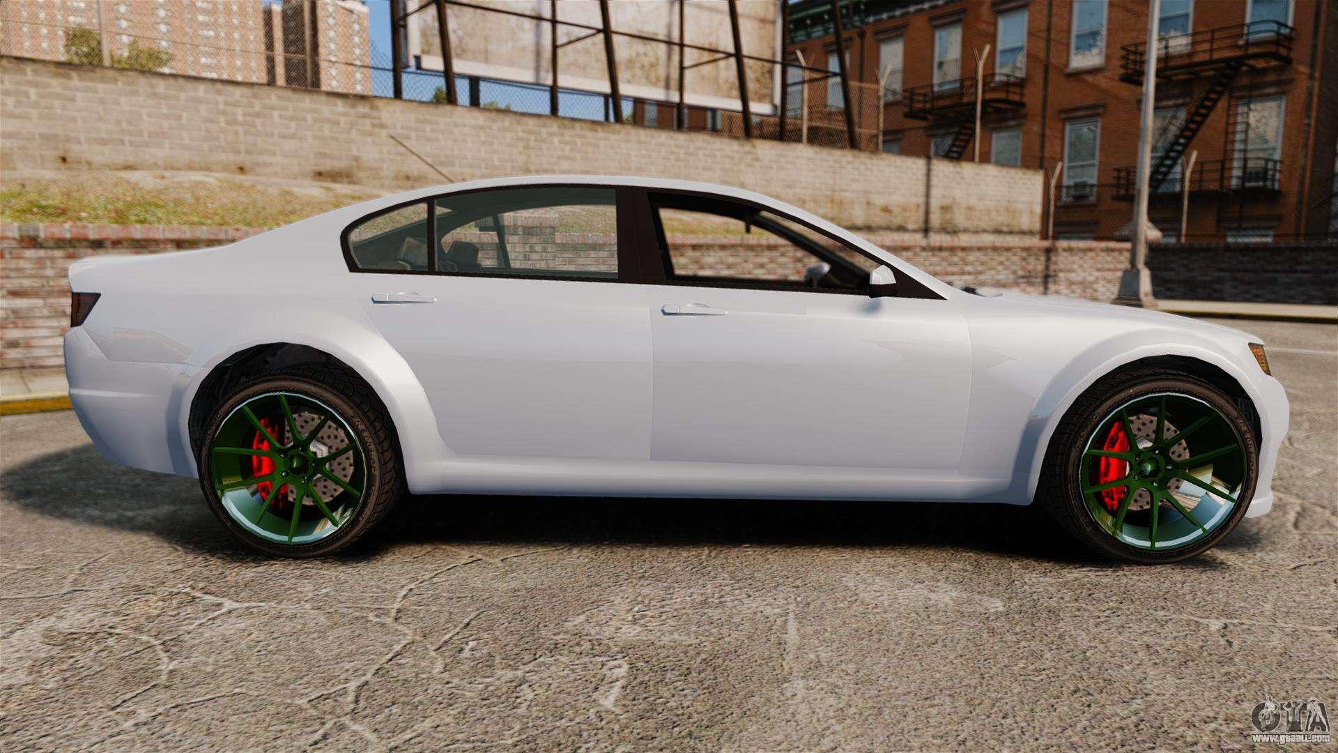 GTA V Cheval Fugitive new wheels for GTA 4