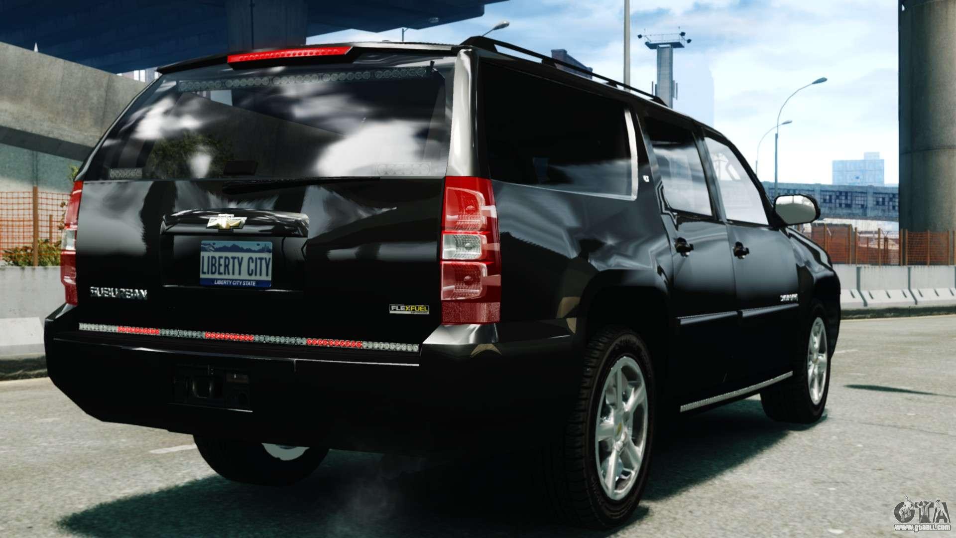 Chevrolet Suburban 2008 Fbi Els For Gta 4