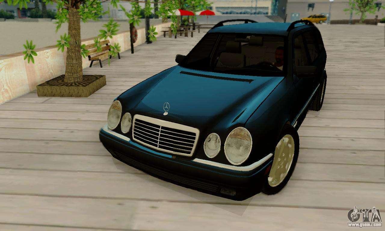 Mercedes benz e320 wagon for gta san andreas for Mercedes benz e320