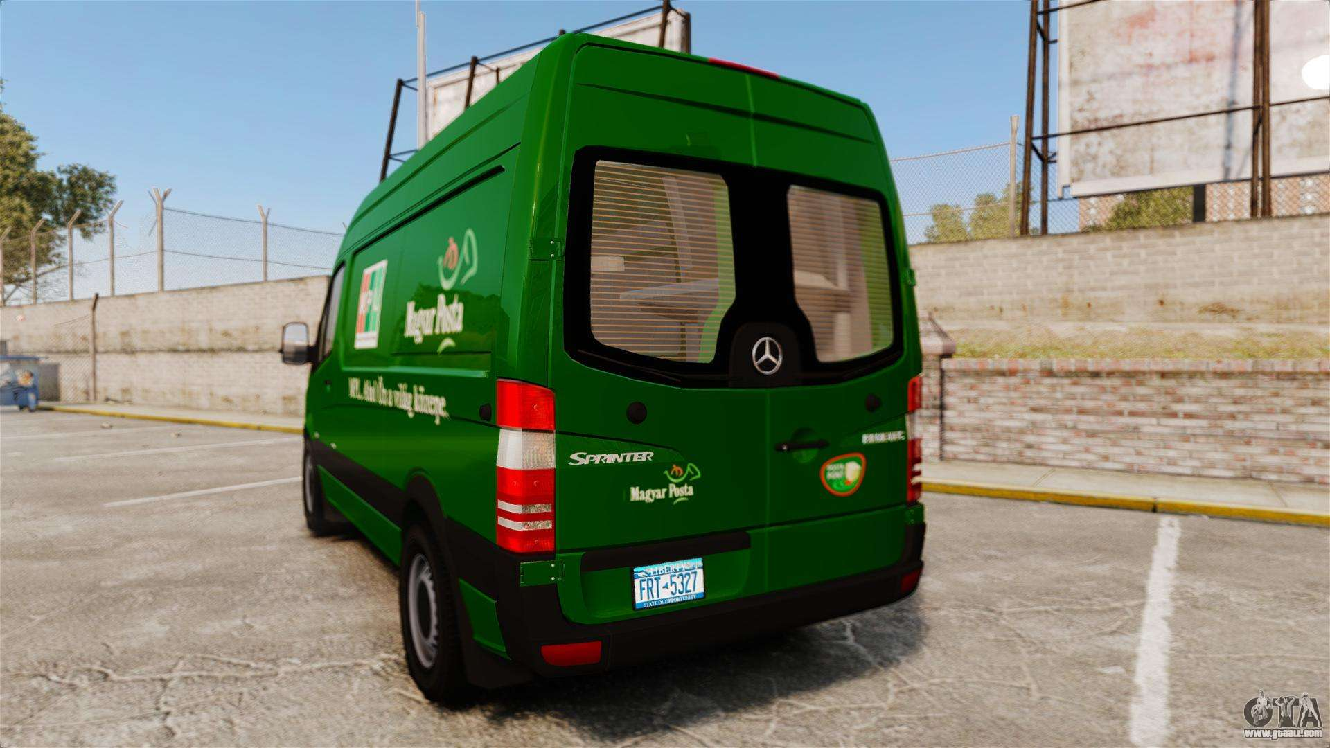 Mercedes benz sprinter 2500 2011 hungarian post for gta 4 for 2011 mercedes benz sprinter 2500