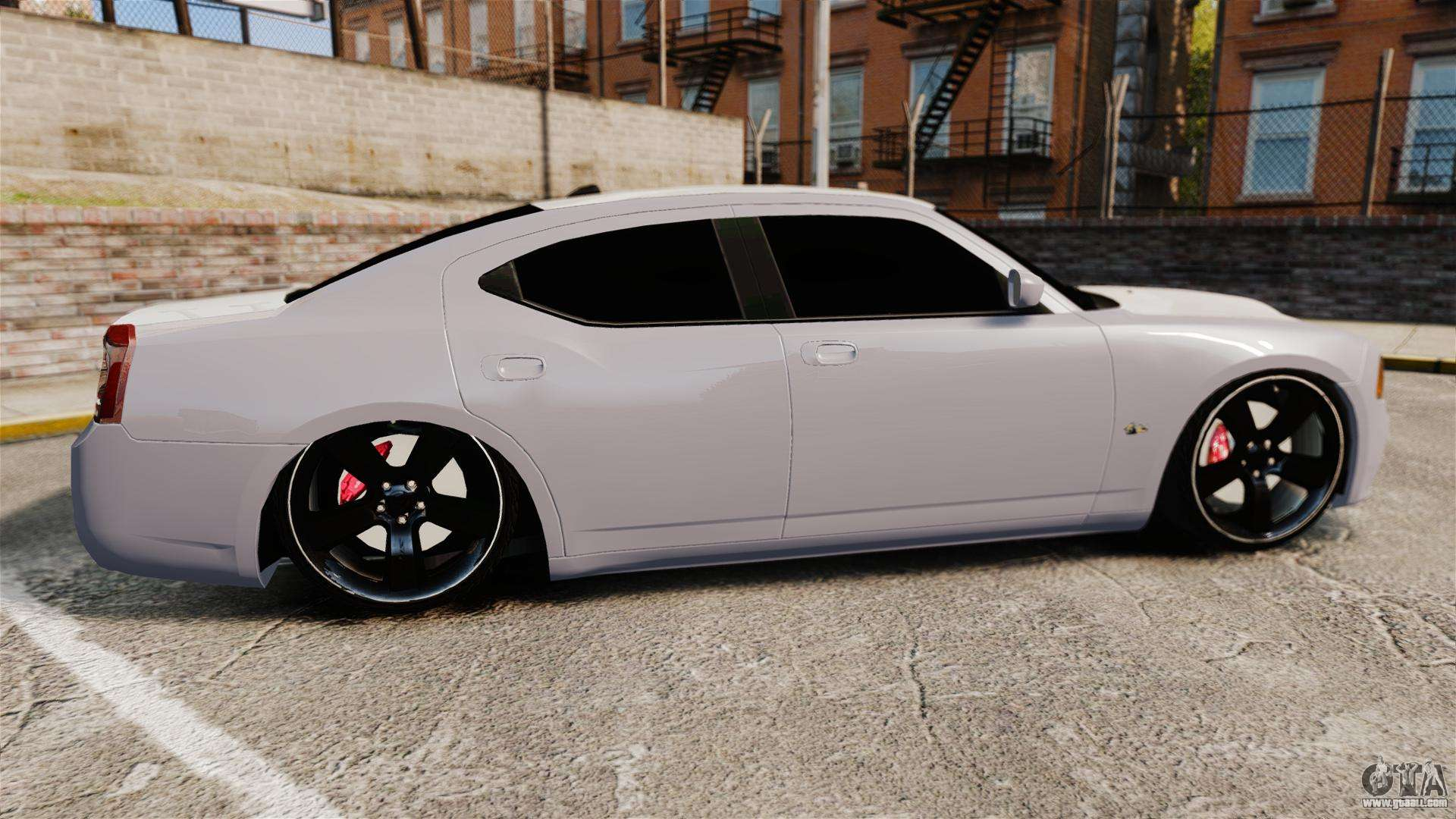 Dodge Charger Srt8 2007 For Gta 4
