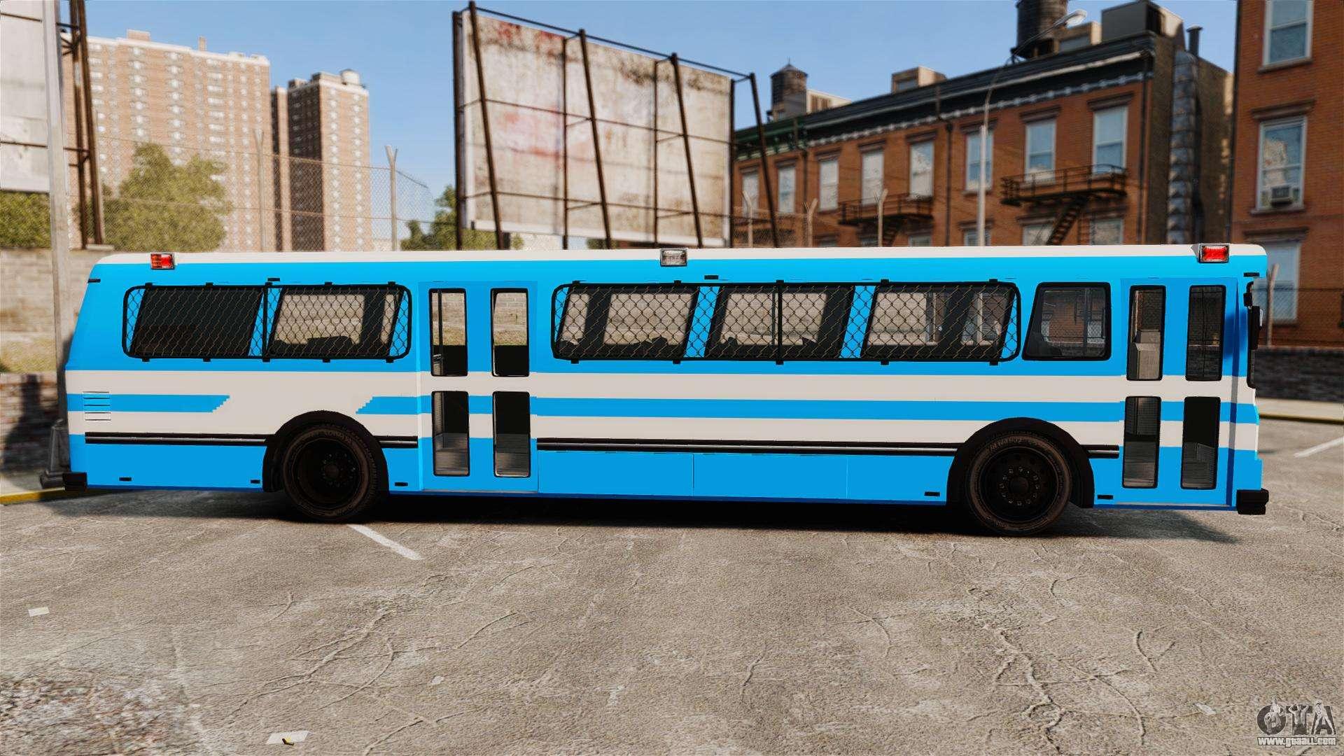 Brute Bus Japanese Police Els For Gta 4-8143
