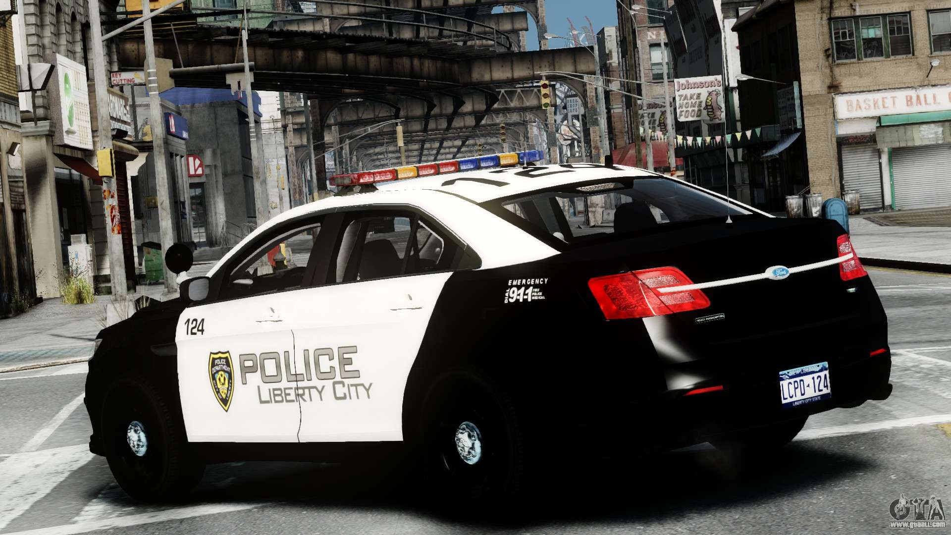 Ford Police Interceptor Lcpd 2013 Els For Gta 4