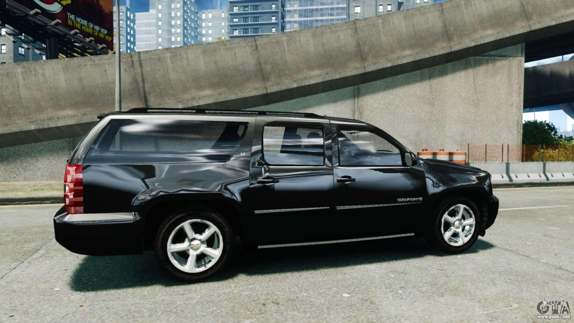 Chevrolet Suburban 2008 FBI [ELS] for GTA 4