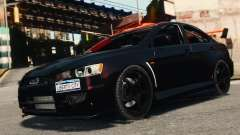 Mitsubishi Lancer Evolution X 2008 Black Edition