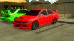 Mitsubishi Lancer Evo VIII for GTA San Andreas