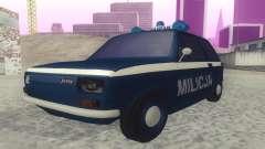 Fiat 126p milicja