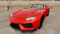Lamborghini Estoque Concept 2008 for GTA 4