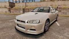 Nissan Skyline ER34 GT-R