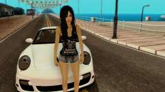 Jack Daniels Girl Skin for GTA San Andreas