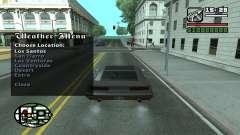 Weather Menu for GTA San Andreas