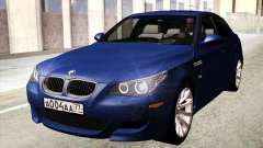 BMW M5 E60 2010 for GTA San Andreas