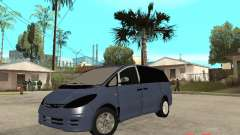 Toyota Estima KZ Edition 4wd for GTA San Andreas