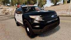 Ford Explorer 2013 LCPD [ELS] Black and Gray