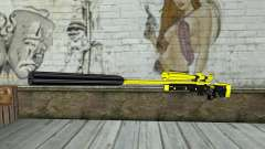 Yellow Sniper Rifle for GTA San Andreas