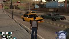 C-HUD Rifa in Ghetto for GTA San Andreas