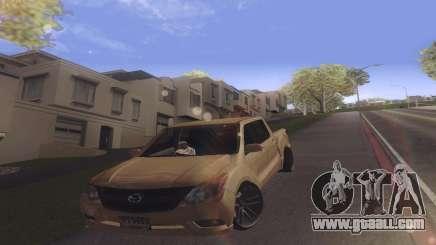 Mazda BT-50 Pro for GTA San Andreas