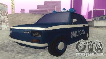 Fiat 126p milicja for GTA San Andreas