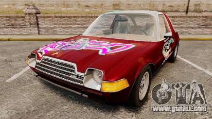 AMC Pacer 1977 v2.1 Miku for GTA 4