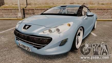 Peugeot RCZ for GTA 4