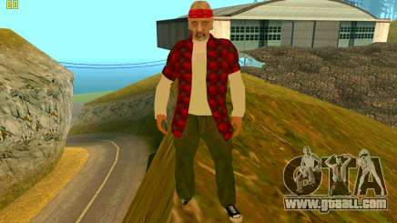 The new texture Truth for GTA San Andreas