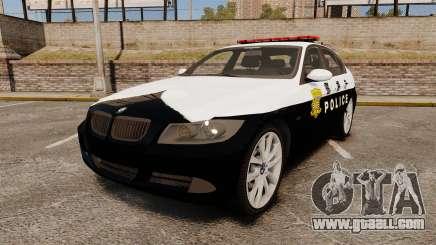 BMW 350i Japanese Police [ELS] for GTA 4