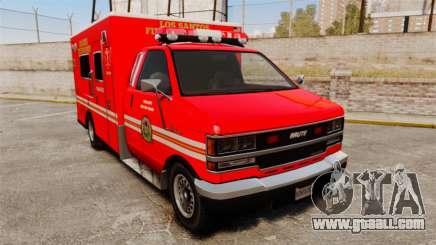 Brute LSFD Paramedic for GTA 4